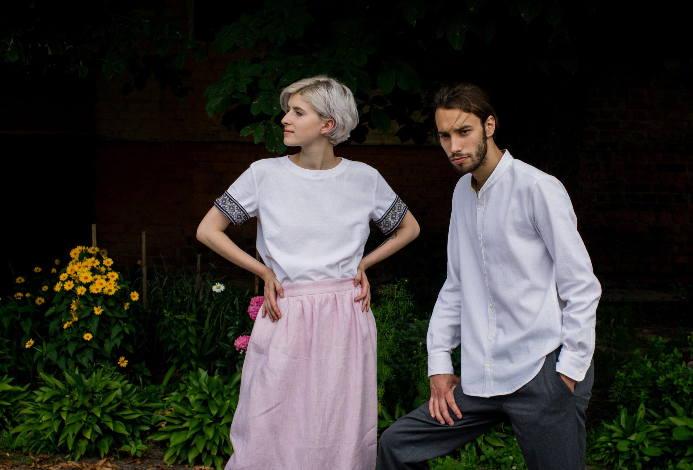 Одяг Намитка з натуральних тканин