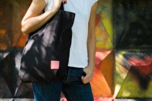 Еко-сумка шопер з натуральних матеріалів